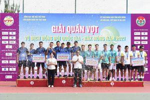 Nam Hải Đăng, nữ TP.HCM vô địch giải quần vợt đồng đội toàn quốc 2021