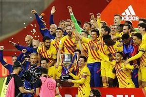 Barca vô địch Cúp Nhà vua Tây Ban Nha lần thứ 31