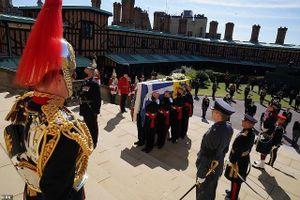 Chùm ảnh: Hoàng gia Anh tiễn đưa Hoàng thân Philip