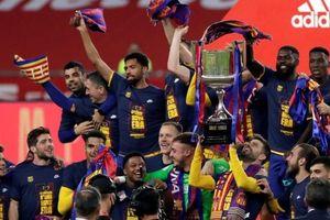 Messi tỏa sáng, Barcelona vô địch Cúp Nhà Vua