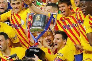 Messi lập kỷ lục ghi bàn, Barca vô địch Cup Nhà vua