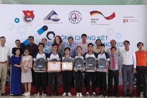 Trường THPT Nguyễn Trung Trực đạt giải nhất cuộc thi Robocon cấp tỉnh