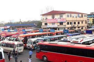 Hà Nội: Bỏ bến dài ngày, nhiều xe bị cắt 'lốt' hoạt động