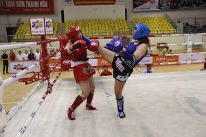 Thanh Hóa giành giải nhất toàn đoàn tại giải vô địch Muay quốc gia