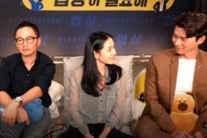 Fan soi chi tiết Hyun Bin - Son Ye Jin liếc mắt đưa tình công khai đến nỗi đạo diễn ngồi cạnh chẳng khác nào 'kỳ đà cản mũi'