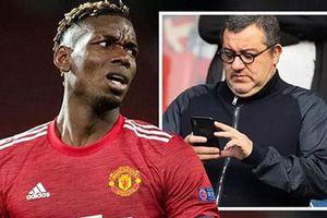 Pogba yêu cầu mức lương 500.000 bảng/tuần với MU