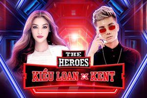 Tân binh V-Pop Lona Kiều Loan 'oanh tạc' sàn đấu The Heroes cùng producer Kent Trần