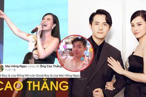 Bị Ông Cao Thắng làm 'bẽ mặt' trên sân khấu, Đông Nhi lên tiếng chấn chỉnh: Ngoan mới là chồng em?