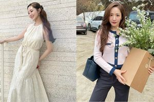 Style của Park Min Young ngày càng thăng hạng 'dữ dội', hay là yêu rồi nên vậy?