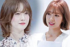 Học theo sao Hàn nhuộm tóc, chị em U40 mặt trẻ hơn tuổi