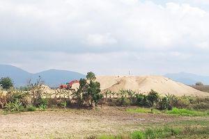 Đắk Lắk ngang nhiên lập bãi tập kết cát vì sao chưa bị xử lý?