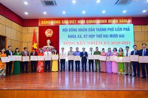 HĐND TP Cẩm Phả khóa XX tổng kết nhiệm kỳ 2016 - 2021