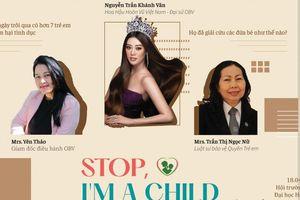 Gặp gỡ Hoa hậu Khánh Vân và tổ chức One Body Village tại sự kiện 'Stop, I'm a child'