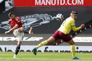 TRỰC TIẾP MU 0-0 Burnley: Hiệp 1 kết thúc