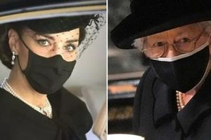 'Sinh ra để làm Hoàng hậu': Kate được khen vì cách cư xử trong tang lễ Hoàng thân Philip