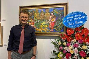 Đất nước, con người Lào và Việt Nam qua các tác phẩm nghệ thuật của họa sĩ Lê Dũng Cường