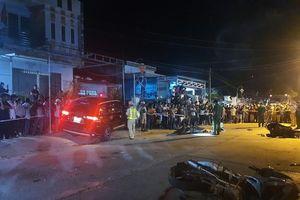 Bắt tài xế ô tô tông 7 người thương vong ở Quảng Nam