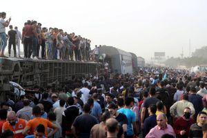 Gần 100 người bị thương trong tai nạn đường sắt ở Ai Cập