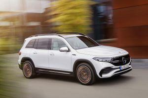 Mercedes-Benz EQB được ra mắt
