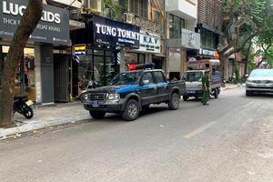 Xử lý vi phạm trật tự đô thị trên phố Lê Ngọc Hân