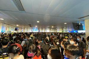 Hệ thống soi chiếu sân bay Tân Sơn Nhất quá tải gây ùn tắc