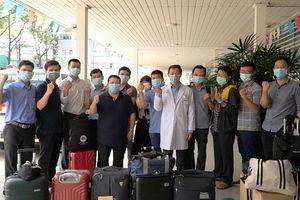 Đội phản ứng nhanh Bệnh viện Chợ Rẫy lên đường đến Kiên Giang