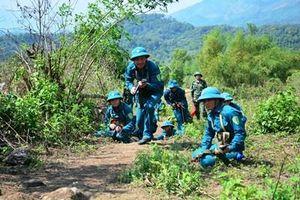 Diễn tập chiến đấu phòng thủ xã Mường Phăng sát với thực tế