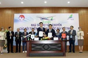 Bamboo Airways là nhà tài trợ vận chuyển cho toàn bộ các Đội tuyển bóng đá Quốc gia Việt Nam