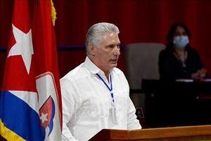 Đồng chí Miguel Díaz-Canel Bermúdez được bầu làm Bí thư thứ nhất Ban Chấp hành Trung ương Đảng Cộng sản Cuba