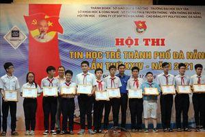 110 thí sinh đạt giải Nhất Hội thi Tin học trẻ TP Đà Nẵng lần thứ 24