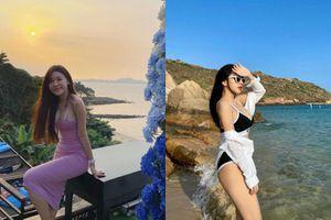 Hai nàng WAG Việt khoe body nóng bỏng 'hot hơn cả mùa hè'