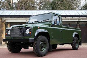 Land Rover Defender đưa tiễn đưa Hoàng tế Philip tới nơi yên nghỉ