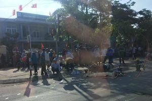 Quảng Bình: Người phụ nữ đứng chờ đèn đỏ bị ô tô tông từ phía sau tử vong