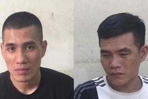 Hai 'con nghiện' dùng cuốc đập vỡ kính xe ô tô, cướp tài sản