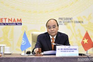 Phát biểu của Chủ tịch nước Nguyễn Xuân Phúc tại Phiên thảo luận Cấp cao của Hội đồng Bảo an Liên hợp quốc