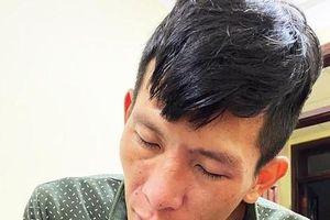 Kẻ bắn người bị bắt trong tình trạng vã thuốc, lảo đảo