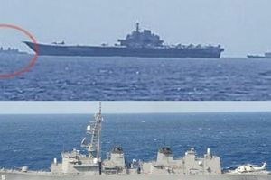 Tàu chiến Nhật Bản cũng tham gia bám đuổi tàu sân bay Trung Quốc