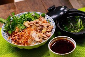 Cách làm phở gà trộn đậm đà dư vị Hà Thành