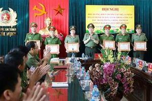 Công an Nam Định khen thưởng tập thể, cá nhân triệt xóa 2 chuyên án lớn
