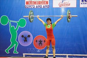 Khoảng 200 vận động viên tham dự Giải vô địch Cử tạ thanh thiếu niên quốc gia