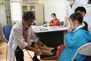 Khám, cấp phát thuốc miễn phí cho đối tượng chính sách, trẻ em khuyết tật
