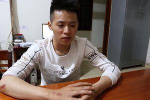 Gia Lai: Truy bắt 2 thanh niên lạng lách, dùng bột ớt chống đối CSGT