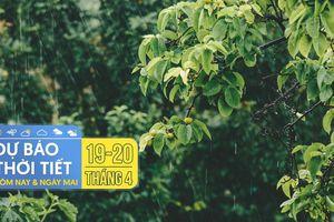 Dự báo thời tiết hôm nay và ngày mai 20/4: Hà Nội, TPHCM đều có mưa dông, đề phòng thời tiết nguy hiểm