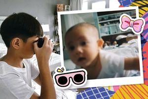 Hà Hồ háo hức khoe thành quả Subeo chụp ảnh 2 em sinh đôi: 'Out nét' nhưng ngập tràn tình cảm
