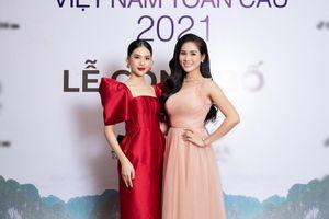 Siêu mẫu Quỳnh Hoa hội ngộ Á hậu Hoàng Hạnh, nhan sắc ngọt ngào hút mọi ánh nhìn