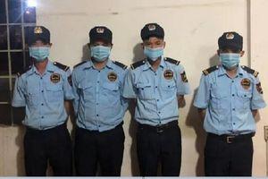 4 nhân viên bảo vệ 'phê' ma túy trong ca trực