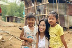 Hoa hậu Đỗ Thị Hà thực hiện dự án nhân ái mang đến Miss World 2021