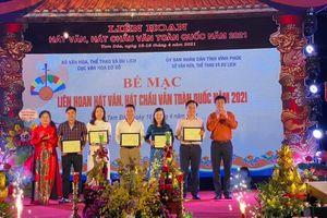 Thanh Hóa giành Giải A tại Liên hoan hát văn, hát chầu văn toàn quốc năm 2021
