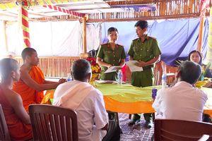 Tâm tình nữ chiến sĩ cấp căn cước công dân nơi biên giới