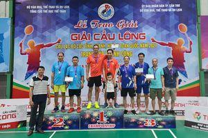 Đoàn Bắc Giang xếp thứ Nhì tại Giải vô địch Cầu lông CLB các tỉnh, thành, ngành toàn quốc năm 2021